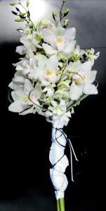 bouquet en orquídeas